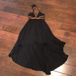 Sky hi-lo dress